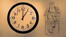 sag16doylehenry-with-clock
